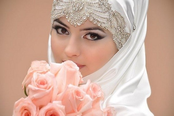 Самые красивые невесты в хиджабах, 25 фото