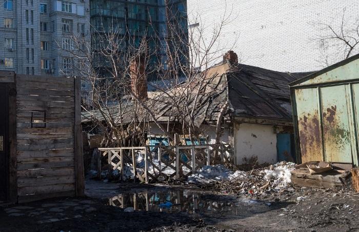 Грязь и разруха: российские города во всей своей «красе», 50 фото