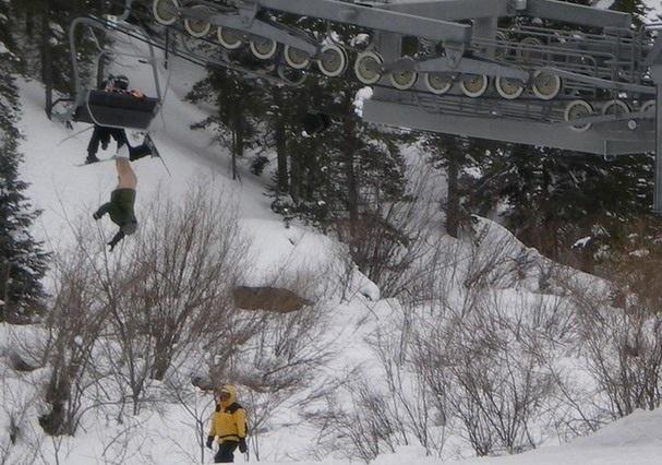 Самые смешные снимки с лыжных склонов