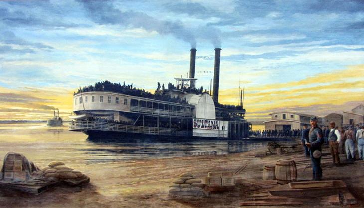 «Султанша» - забытая катастрофа, унёсшая больше жизней, чем «Титаник»