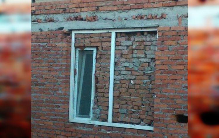 нелепые и странные окна