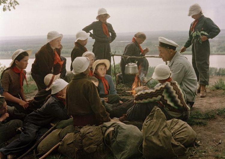 Пляжный отдых в СССР: 55 фото